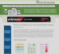 templates for newsletters inspirational of microsoft templates newsletter download free for