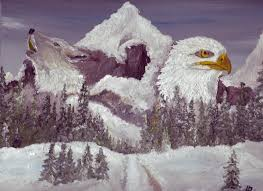 wolf and eagle by michael wulschner on deviantart