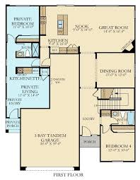 Next Gen Homes Floor Plans The Home Within A Home New Home Plan In Chaparral At Rosena Ranch