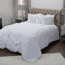 opperman 5 piece comforter set ivory king by wayfair havenly