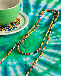 necklace beads diy images Diy hippie love beads jpg