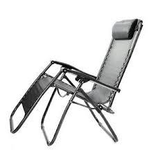folding recliner garden chair reclining sun lounger armchair sun