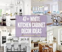 white kitchen cabinets ideas 47 stunning white kichen cabinet decor ideas with photos