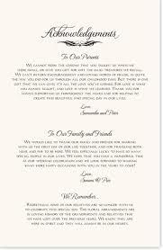 in memory of wedding program wedding program front tolg jcmanagement co