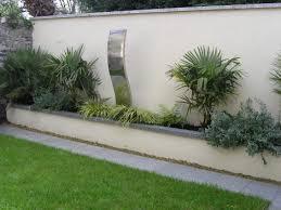 Low Maintenance Garden Design For Small Garden Owen Chubb Garden - Wall garden design