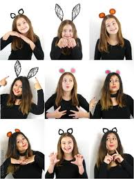 diy animal ears headbands for halloween birdsparty com
