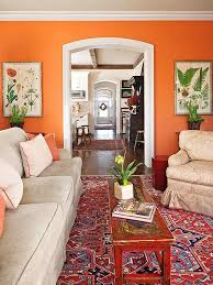 Wonderful Living Room Ideas Orange Walls That Make And Compliment - Orange living room decorating ideas