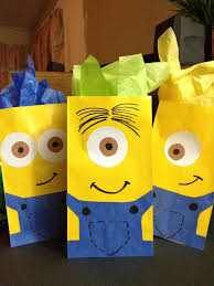 minion gift bags diy goody bags for your next party sweet city candy