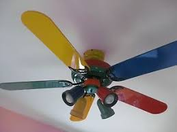 primary color ceiling fan 52 vintage hton bay primary colors ceiling fan 353 220 w light kit