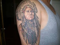 real indian tattoo for man tattoomagz