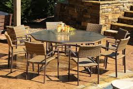 inspirations patio dining table set with 6
