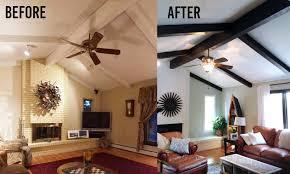 painted desk ideas house impressive painted wood ceiling ideas makeover basement