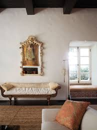 c magazine hidden gem a german rococo mirror hangs above a 19th century indian bench