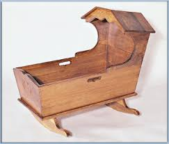 Small Wood Crafts Plans by Wood Bassinet Plans Do Kit U2013 Pre Cut Woodworking Projects Baby