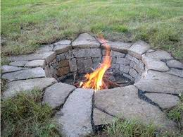 Rock Firepit Burning Rocks For Pit Click Here If You Propane Burning