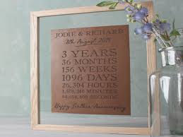 3rd wedding anniversary gifts leather 3rd wedding anniversary gifts gettingpersonal co