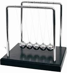 Physics Desk Toys Large Newtons Cradle Office Desk Toy Kenetic Educational Gravity