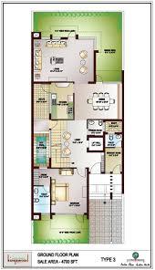 Ground Floor Plan Kingswood Oriental Noida Jaypee Greens Kingswood Oriental