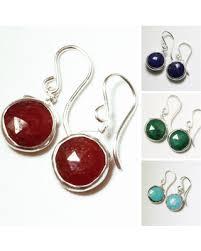 s birthstone earrings deal alert genuine ruby earrings ruby earrings sterling silver