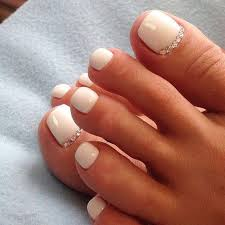 best 10 white toenail designs ideas on pinterest nail designs