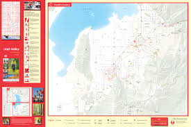 Park City Utah Trail Map by Utah County Maps Visit Utah Valley