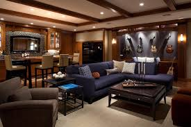 Basement Living Room by Man Cave Ideas For Basement Joshua And Tammy