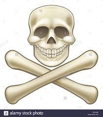 Halloween Skeleton Cartoon A Kids Cartoon Halloween Pirate Skull And Crossbones Skeleton