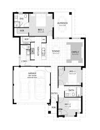 narrow lot single storey homes perth cottage home designs