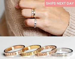 rings engraved images Engraved ring etsy jpg