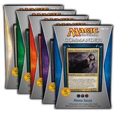 magic commander 5 brand new decks coqui hobby distribution