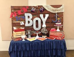Awesome Nautical Boy Baby Shower Ideas 34 With Additional Baby