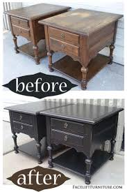 End Tables For Bedroom by Best 25 Redo End Tables Ideas On Pinterest Distressed End