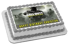 call of duty cake topper call of duty infinite warfare edible cake topper cupcake toppers