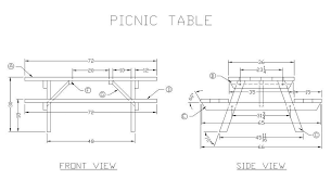 Picnic Table Plans Free Pdf by Wood Picnic Table Plans Free Pdf Plans Wooden Hammock Stand Diy