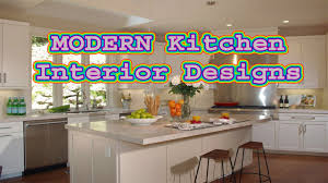 Modern Kitchen Cabinets Images Modern Kitchen Interior Designing Ideas Kitchen Design Trends