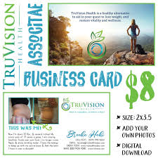 Make My Own Business Card Truvision Health Business Card V2 Digital Download Truvision