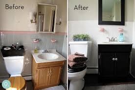 Small Bathroom Makeover Ideas Image Of Diy Small Bathroom - Simple bathroom makeover