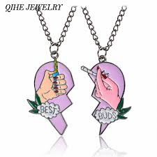 necklace best friends images Qihe jewelry best friends necklace best buds cigarettes and jpg