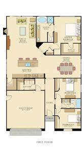 Kitchen And Great Room Floor Plans Plan 25402tf Modern Prairie Pleaser Craftsman House And Future
