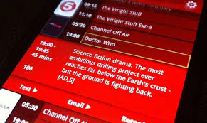 tv guide for android media tv guide app for android lets you remote record tivo