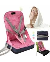 Portable Baby High Chair Don U0027t Miss This Deal Costway Pink Pedestal Baby High Chair Infant