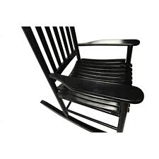 White Slat Rocking Chair by Mainstays Outdoor Wood Rocking Chair Walmart Com