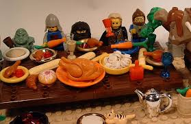 thanksgiving legos food ensign expendable