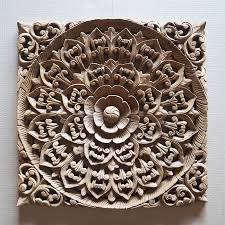 balinese carved wood wall panel siam sawadee for wood