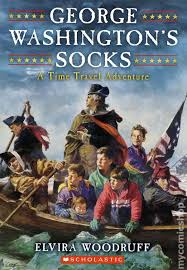 time travel books images George washington 39 s socks a time travel adventure sc 2010 comic jpg