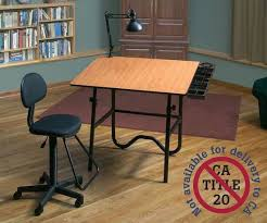 Drafting Table And Chair Alvin Creative Center Folding Drawing Table Drafting Chair Lamp
