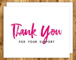 appreciation cards appreciation card etsy