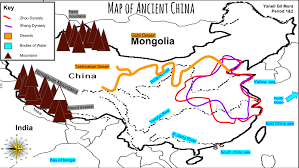 Kunlun Mountains Map Map Of Ancient China Thinglink