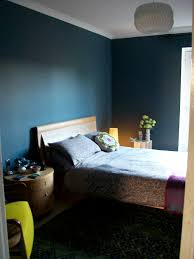Yellow Bedroom My Dark Blue Bedroom Walls Steel Symphony 1 Dulux Anthropologie