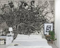 1851 london map wall muralaoO wall mural eazywallz 1851 london map wall mural black white maps eazywallz